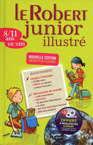 Robert, Le Robert junior illustr�