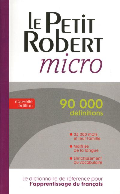 Robert, Le Robert micro poche