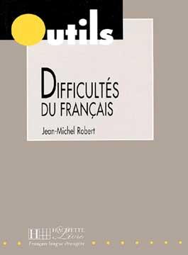 Robert, Difficultés du français