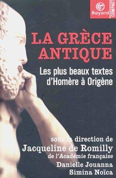 de Romilly, La Grèce de Jacqueline de Romilly