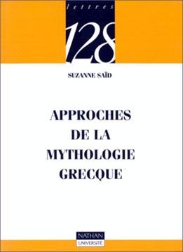 Approches de la mythologie grecque (nathan)