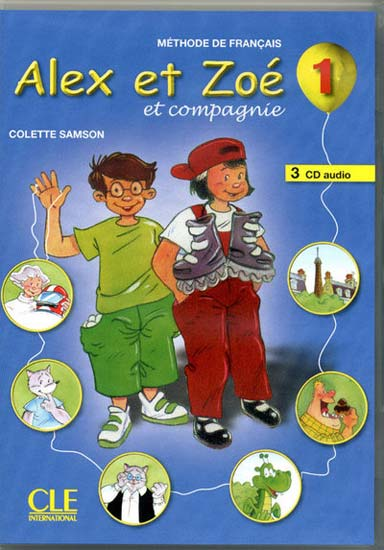 Alex et Zoé 1 - 3CD Audio Collectifs