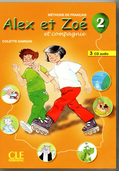 Alex et Zoé 2 - 3CD Audio Collectifs