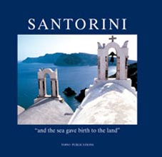 Santorini, and the sea gave birth to the land