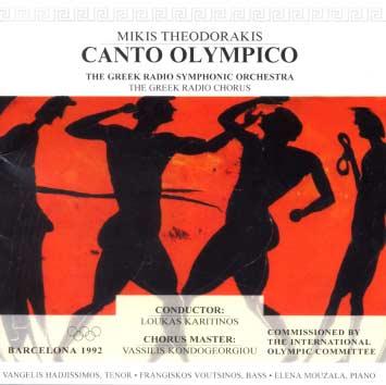 Theodorakis, Canto Olympico