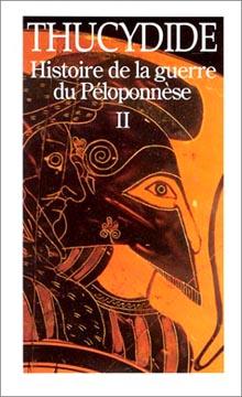 Histoire de la guerre du Péloponnèse II