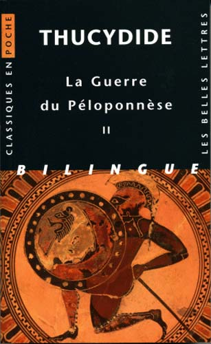 Thucydide, Guerre du Péloponnèse. Tome II