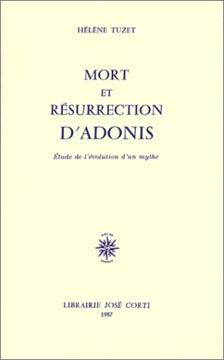 Mort et résurrection d'Adonis