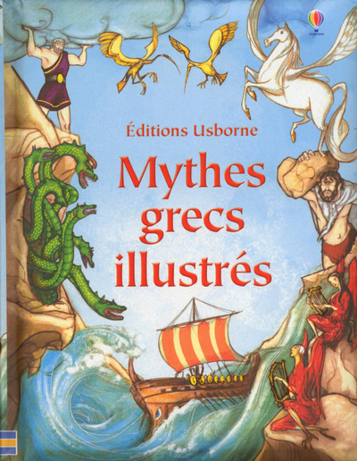 Usborne, Mythes grecs illustrés