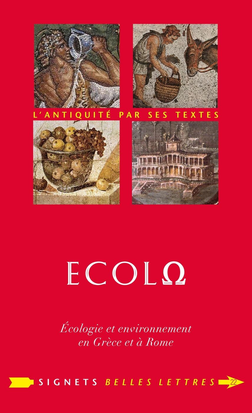 �colo. �cologie et environnement en Gr�ce et � Rome