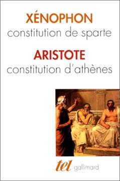 Ξενοφών, Constitution de Sparte - Constitution d'Athènes